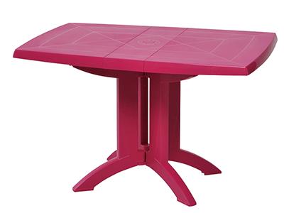 ベガFテーブル118×77/67フクシア