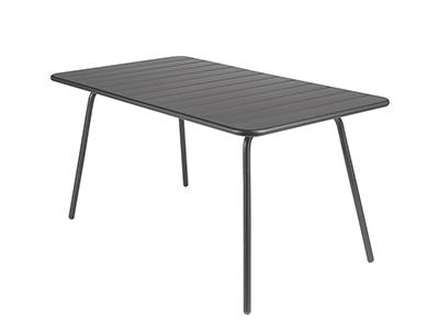 ルクセンブール テーブル80×143/47アンスラサイト