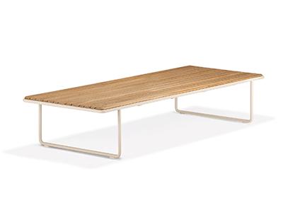 ルウ チークコーヒーテーブル 68×170