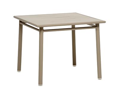 NC テーブル90×90/ライトトープ