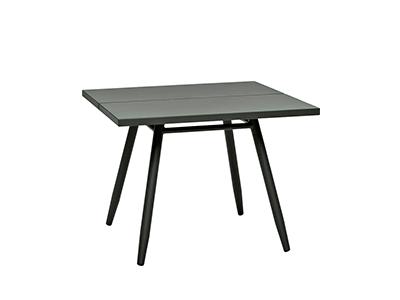 スティパスクエアアルミテーブル/カーボン