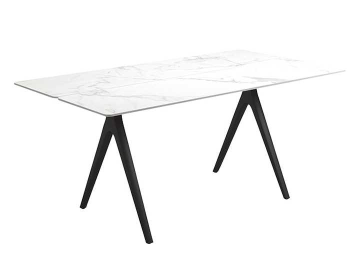 スプリットセラミックダイニングテーブル92×220cm