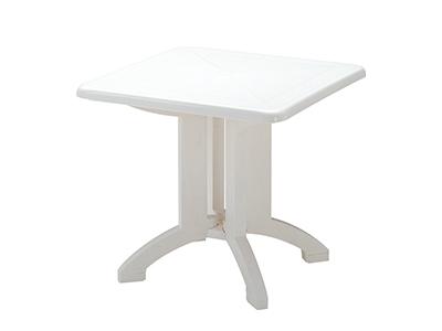 ベガテーブル8×8/004ホワイト
