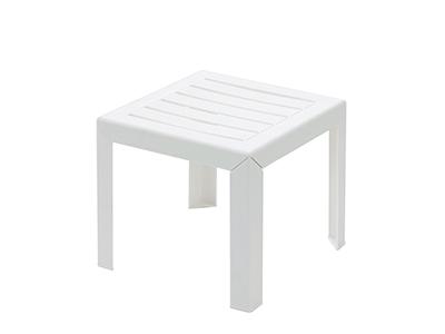 マイアミサイドテーブル40×40/004ホワイト
