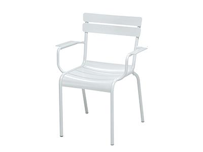 ルクセンブールアームチェア/01ホワイト