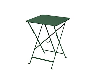 ビストロテーブル 57×57/02シダーグリーン