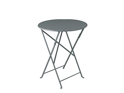 ビストロ テーブル60/26ストームグレー