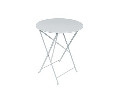 ビストロ テーブル 60/38スチールグレイ