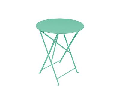 ビストロ テーブル 60/46ラグーンブルー