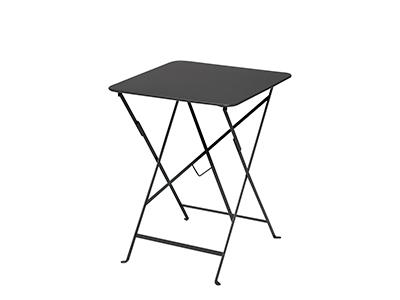 ビストロテーブル 57×57/47アンスラサイト