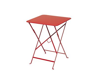 ビストロテーブル 57×57/67レッド