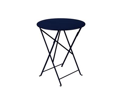 ビストロ テーブル 60/92ディープブルー