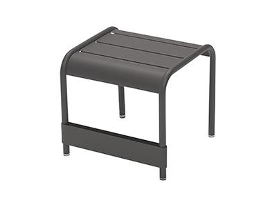 ルクセンブールテーブル42×43/47アンスラサイト