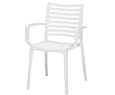 サンデーアームチェア/096ホワイト