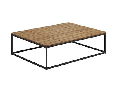 マヤチークコーヒーテーブル75×100