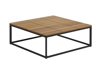 マヤチークコーヒーテーブル75×75