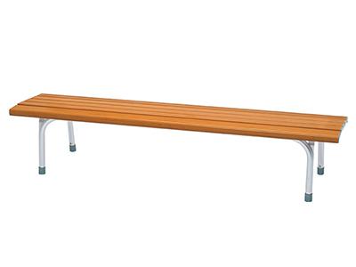 アルミベンチ NSAF-1800/チーク