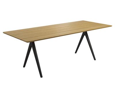 スプリットチークダイニングテーブル92×170cm